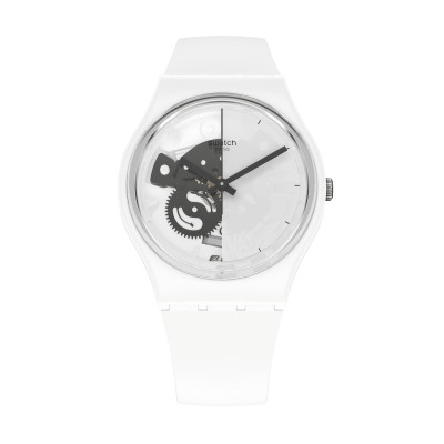 Swatch Live Time White SO31W101