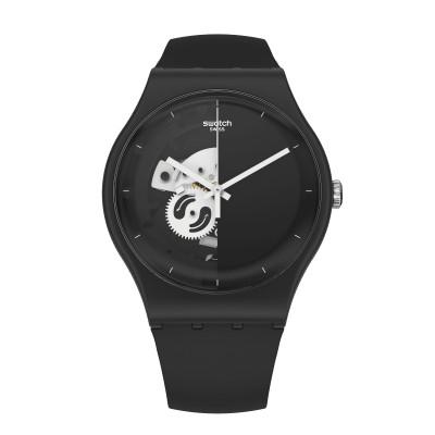 Swatch Live Time Black SO32B107